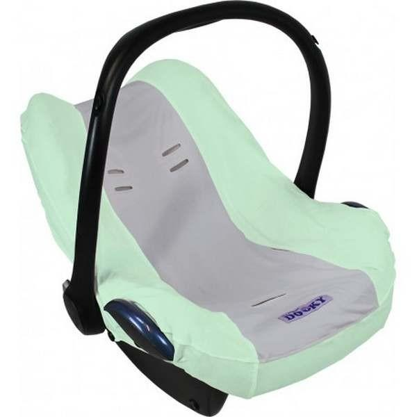 Dooky seat cover mint/grey