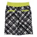 Courageous skirt black/yellow neon