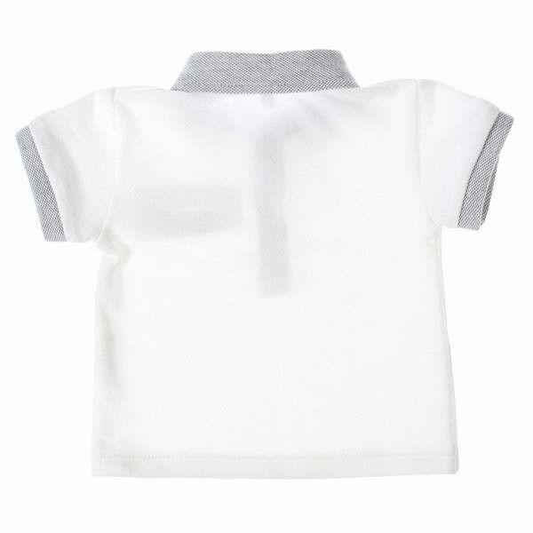 Piek polo white