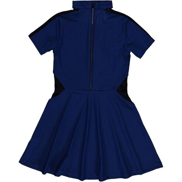 Glen Dress royal blue