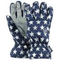Basic skigloves kids blue stars