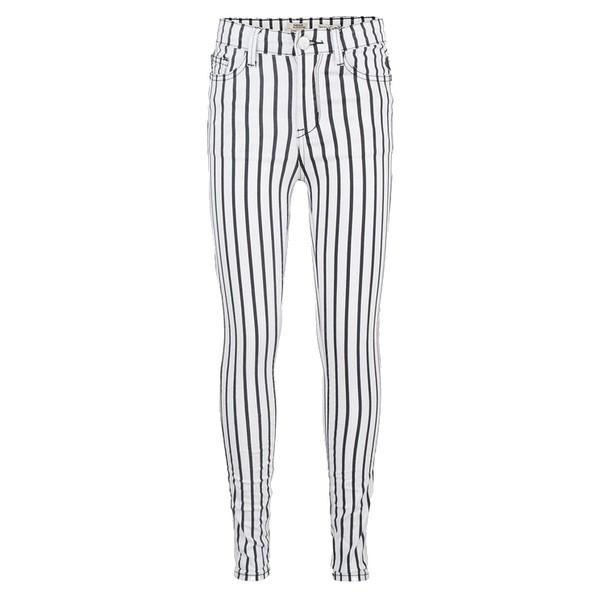 LOIS HIGH WAIST SKINNY FIT striped
