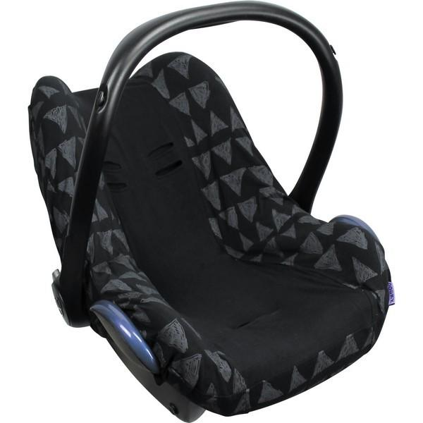 Dooky seat cover black tribal