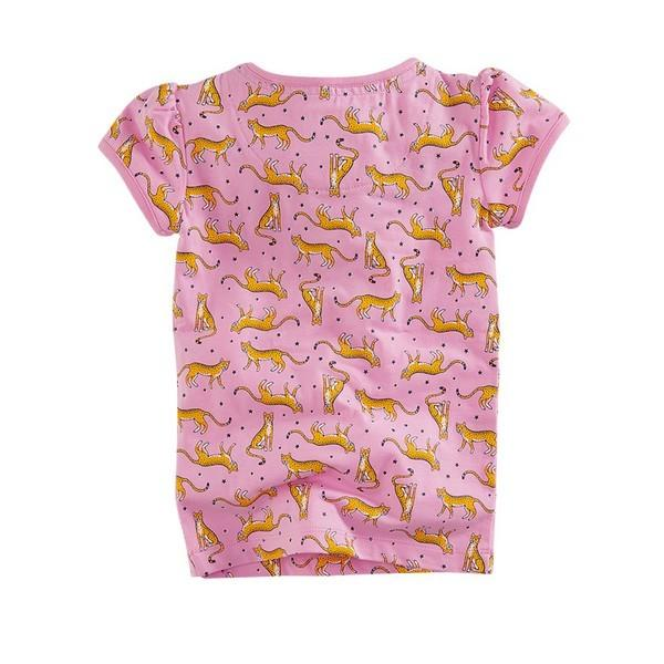 Wendy t-shirt Candy pink/AOP mini