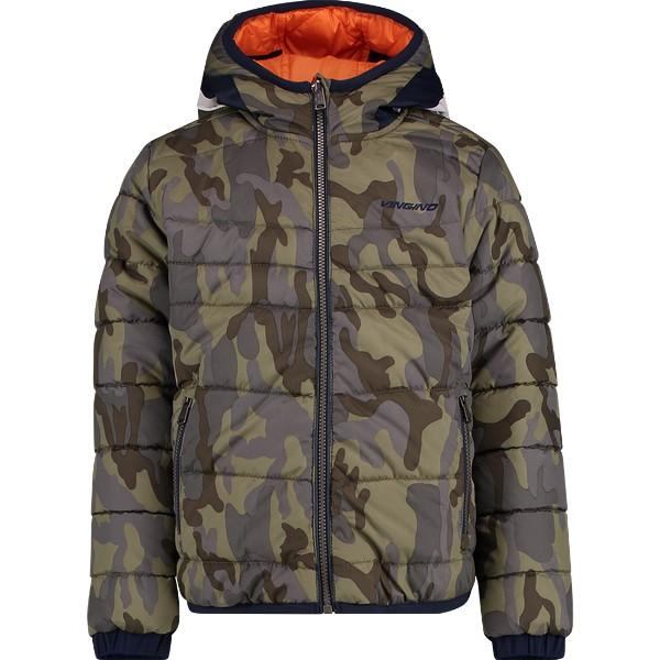 Thaniel Camouflage Green