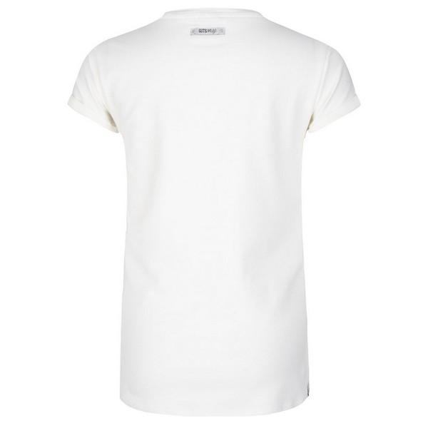 T-SHIRT SS BE MY offwhite