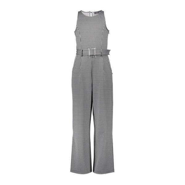 Sterre Jumpsuit houndstooth black-white